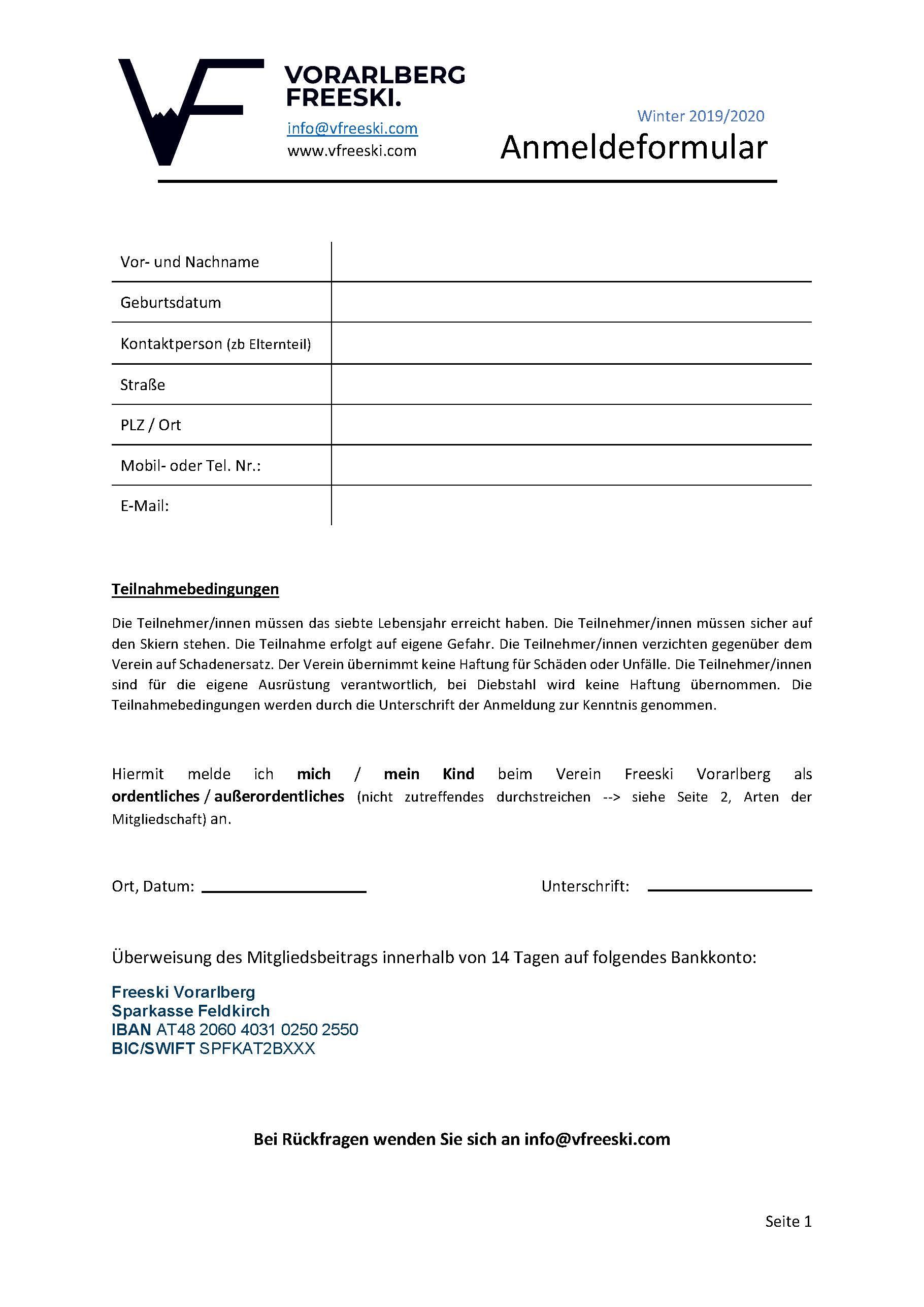 Anmeldeformular Vorarlberg Freeski -2